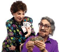 Sabira Merchant and Alyque Padamsee