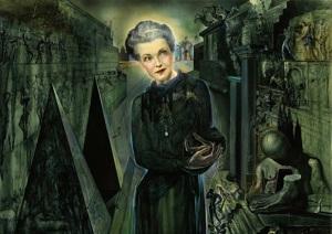 Salvador DalÕ's portrait of Mona Bismarck