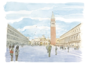 Louis Vuitton Travel Book Venice 2014, Jiro Taniguchi
